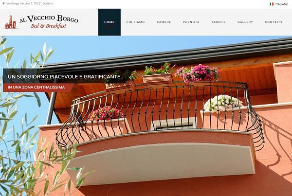 Al Vecchio Borgo Web Site 2015