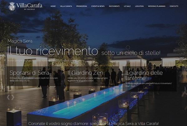 Villa Carafa Web Site 2015